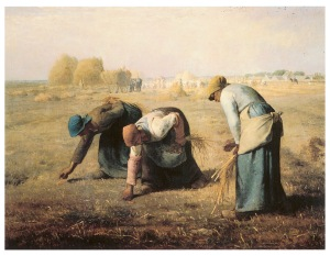 Jean-Francois Millet: The Gleaners