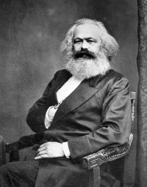 Karl Marx (1818-1883), philosopher and German poli